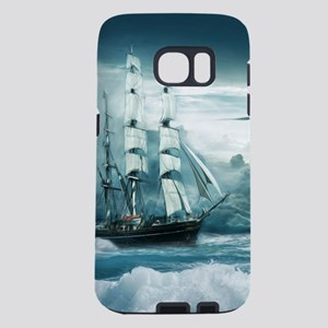 Blue Ocean Ship Storm Clou Samsung Galaxy S7 Case