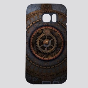 Steampunk Clock Time Metal Samsung Galaxy S7 Case