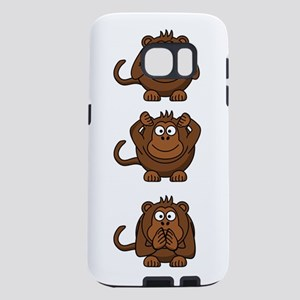 Hear No Evil, Speak No Evi Samsung Galaxy S7 Case