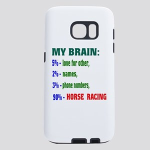 My Brain, 90% Horse Racing Samsung Galaxy S7 Case