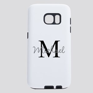 Customize Monogram Initial Samsung Galaxy S7 Case