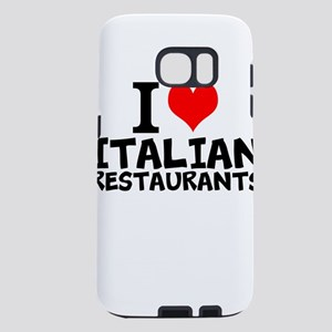 I Love Italian Restaurants Samsung Galaxy S7 Case