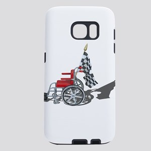 Checkered Flag and Wheelch Samsung Galaxy S7 Case