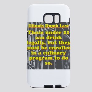 Illinois Dumb Law #1 Samsung Galaxy S7 Case