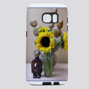 Sunflower Ceramic Samsung Galaxy S7 Case
