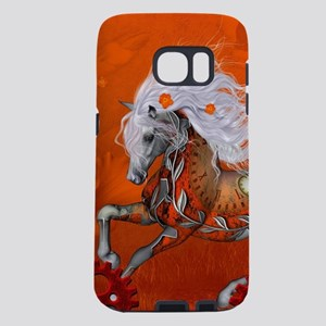 Steampunk, wonderful wild steampunk horse Samsung