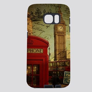 vintage London UK fashion Samsung Galaxy S7 Case