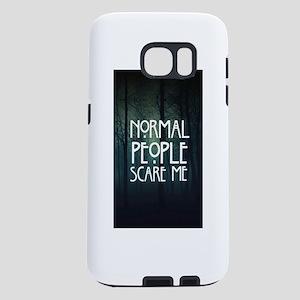 Normal ppl scare me Samsung Galaxy S7 Case