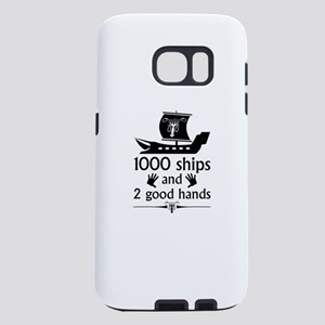 1000 Ships And 2 Good Hands Samsung Galaxy S7 Case