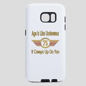 Funny 75th Birthday Samsung Galaxy S7 Case