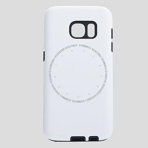 Cyber Security Gray Samsung Galaxy S7 Case