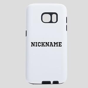 Nickname Personalized Samsung Galaxy S7 Case