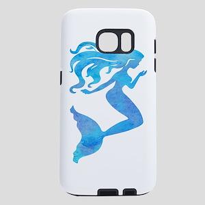 Watercolor Mermaid Samsung Galaxy S7 Case