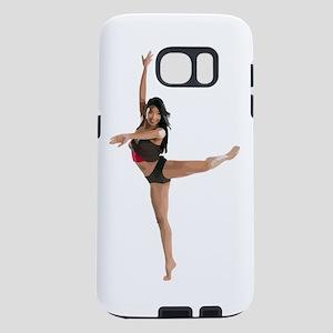 dance9_wht Samsung Galaxy S7 Case