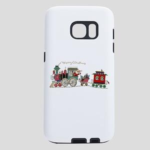 Christmas Santa Toy Train Samsung Galaxy S7 Case