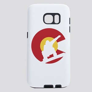 Colorado Snowboarder Samsung Galaxy S7 Case