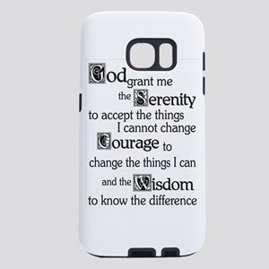 Serenity Prayer Samsung Galaxy S7 Case