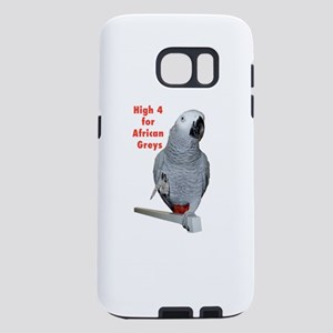High 4 for African Greys Samsung Galaxy S7 Case