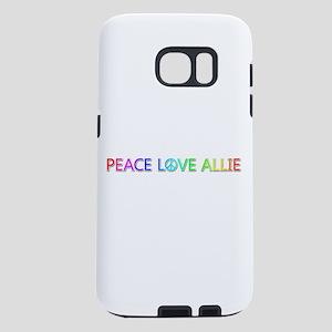 Peace Love Allie Samsung Galaxy S7 Case