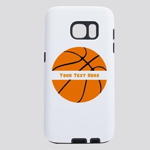 Basketball Personalized Samsung Galaxy S7 Case