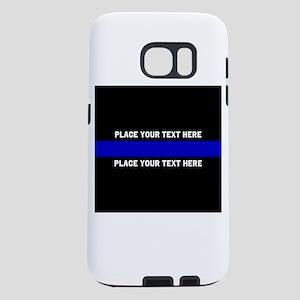 Thin Blue Line Customized Samsung Galaxy S7 Case