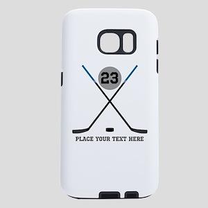 Ice Hockey Personalized Samsung Galaxy S7 Case