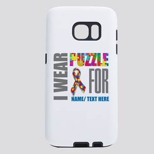 Autism Awareness Ribbon Cu Samsung Galaxy S7 Case