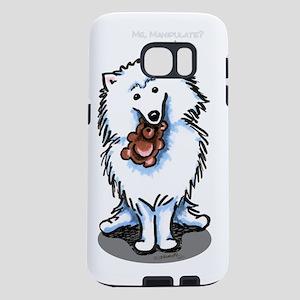 aed-bear-manipulate-Bk Samsung Galaxy S7 Case
