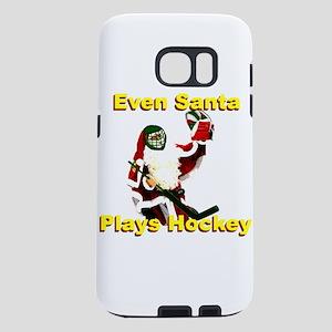 Even Santa Plays Hockey Samsung Galaxy S7 Case