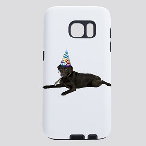 Chocolate Lab Party Samsung Galaxy S7 Case