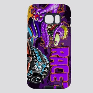 Race? Purple Weirdo  Samsung Galaxy S7 Case