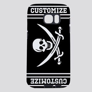 Personalized Pirate Flag Samsung Galaxy S7 Case