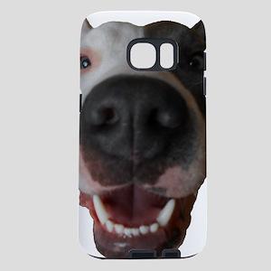 pit bull head Samsung Galaxy S7 Case