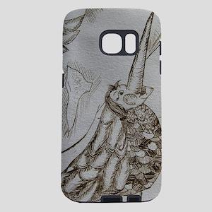 Bird Two Closeup Samsung Galaxy S7 Case
