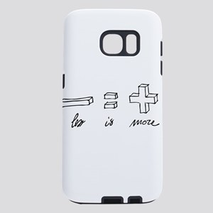 Less is more Samsung Galaxy S7 Case