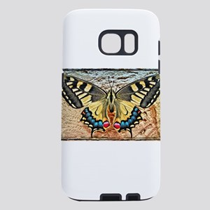 butterfly colorful art des Samsung Galaxy S7 Case