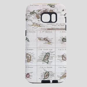 Vintage Islands of The Car Samsung Galaxy S7 Case