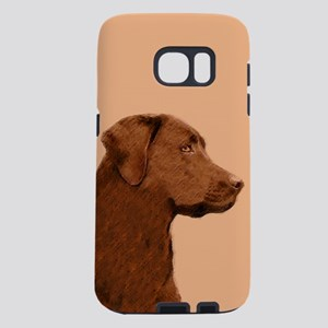 Labrador Retriever (Chocol Samsung Galaxy S7 Case