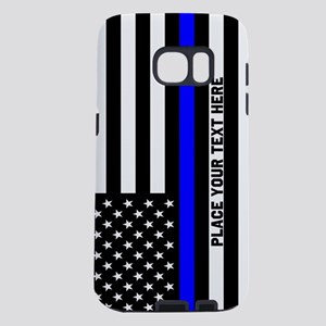 Thin Blue Line Flag Samsung Galaxy S7 Case