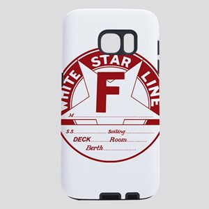 White Star Line Luggage Ta Samsung Galaxy S7 Case