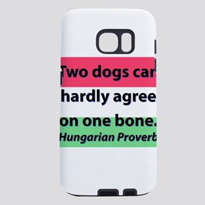 Two Dogs Can Hardly Agree Samsung Galaxy S7 Case
