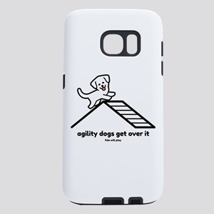 Agility Dogs Get Over It Samsung Galaxy S7 Case