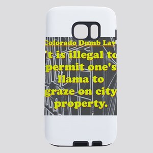 Colorado Dumb Law #9 Samsung Galaxy S7 Case