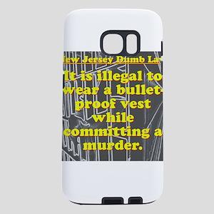 New Jersey Dumb Law #3 Samsung Galaxy S7 Case