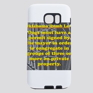 Oklahoma Dumb Law #1 Samsung Galaxy S7 Case