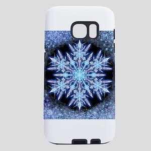 October Snowflake - square Samsung Galaxy S7 Case