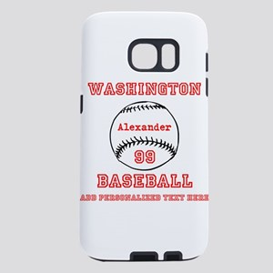 Baseball Personalized Samsung Galaxy S7 Case
