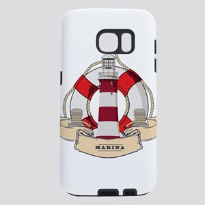 LIGHTHOUSE AND LIFEBELT Samsung Galaxy S7 Case