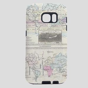 Vintage World Climate & Ve Samsung Galaxy S7 Case