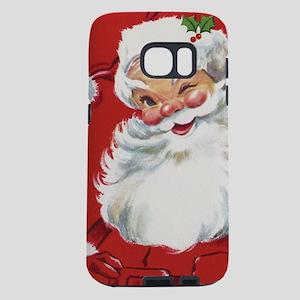 Vintage Christmas Jolly San Samsung Galaxy S7 Case